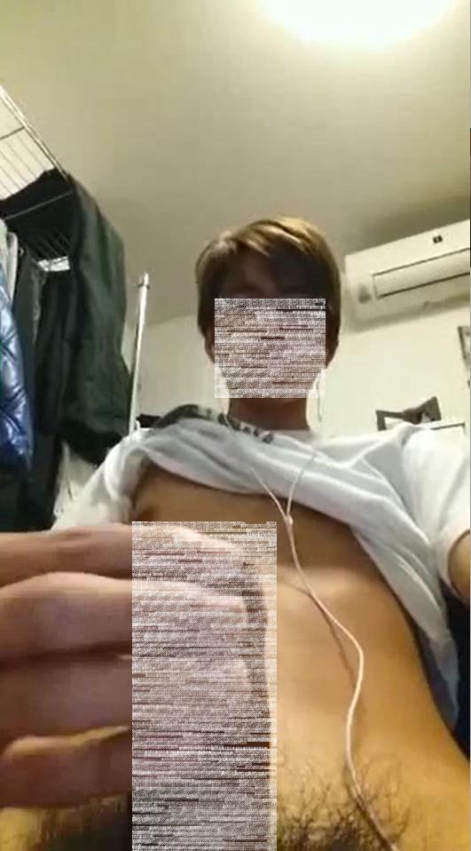 医学部インテリ巨根大学生19歳のオナニー②